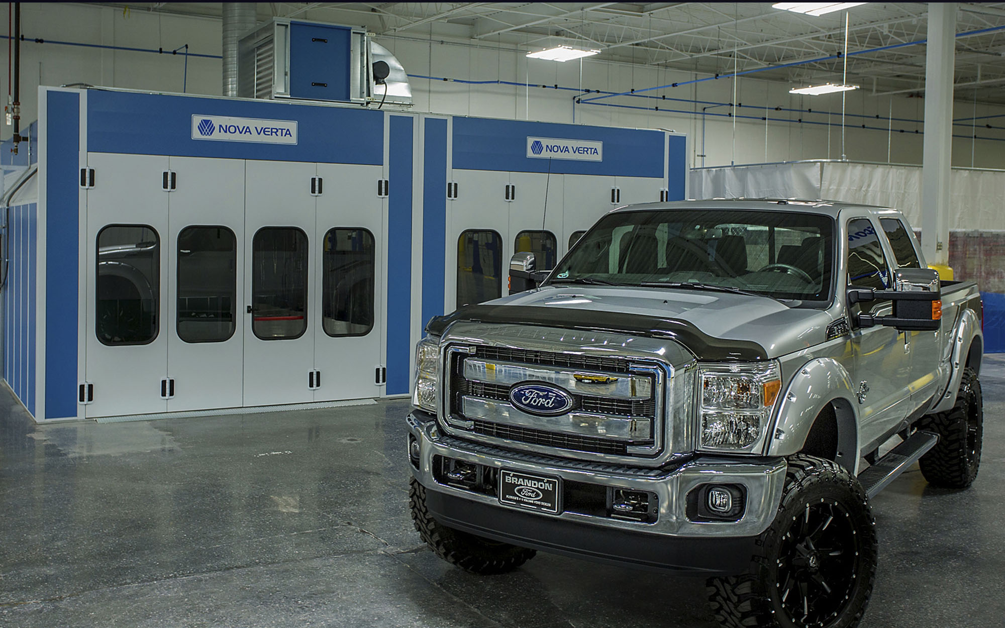 Video Production For Brandon Ford Collision Center By Advluence - Ford collision center