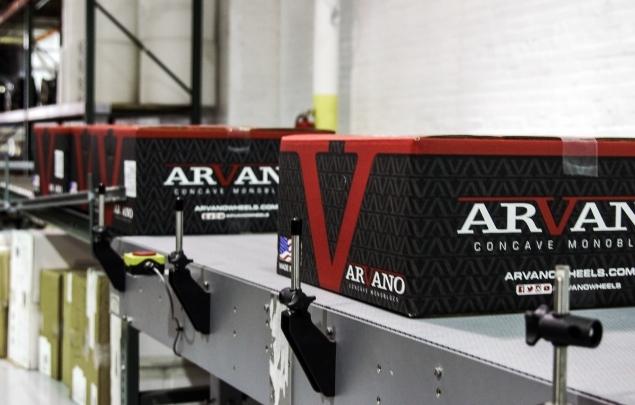 Arvano Concave Packaging Design